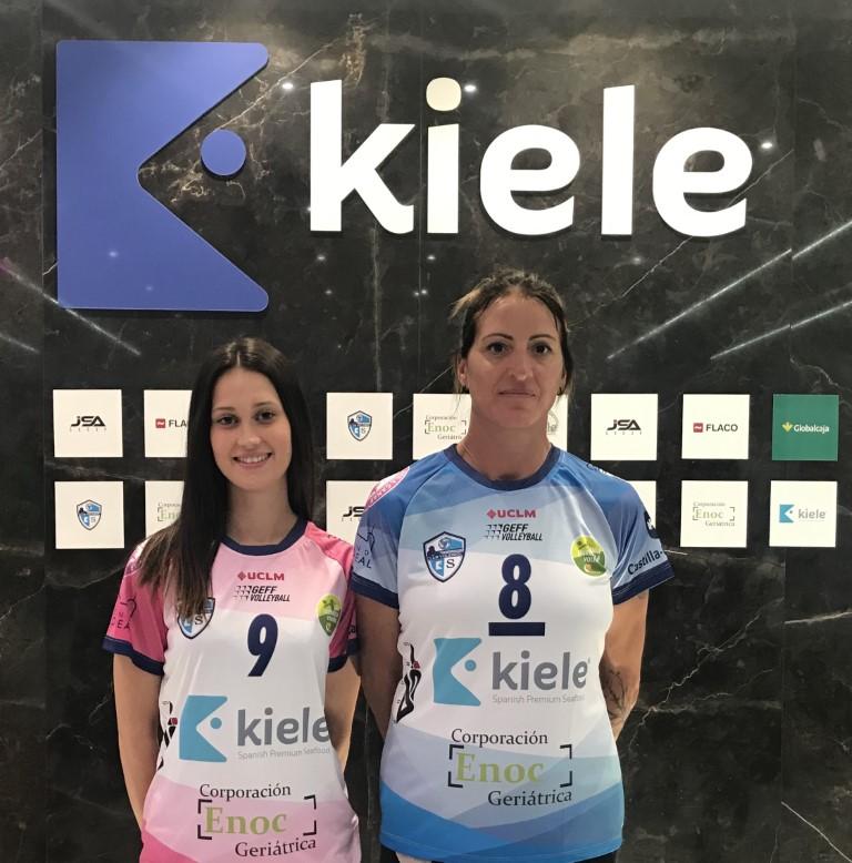 El CV KIELE presenta la camiseta para su estreno en la LIGA IBERDROLA 2019-2020