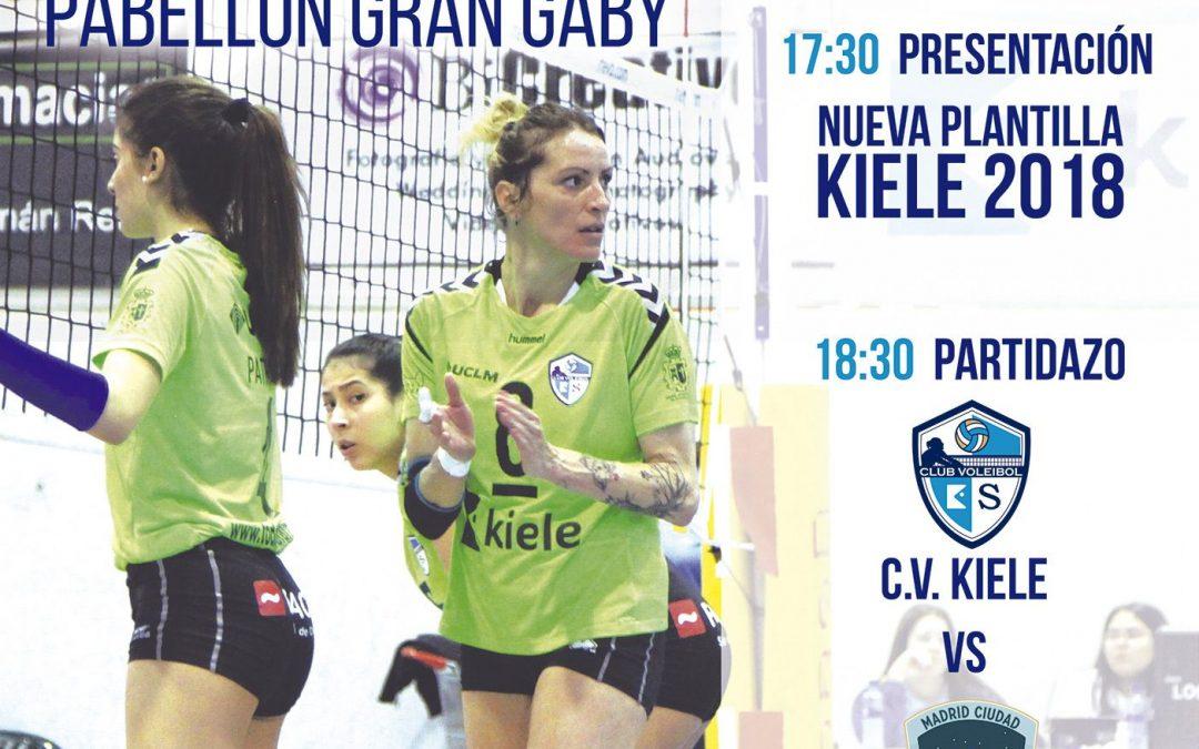 """El """"V Trofeo Paco del Amo de Voleibol"""" enfrentará al CV Kiele Socuéllamos y al Voleibol Madrid"""