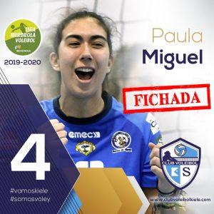 FICHADA la Central PAULA MIGUEL del Mairena con el nº 4