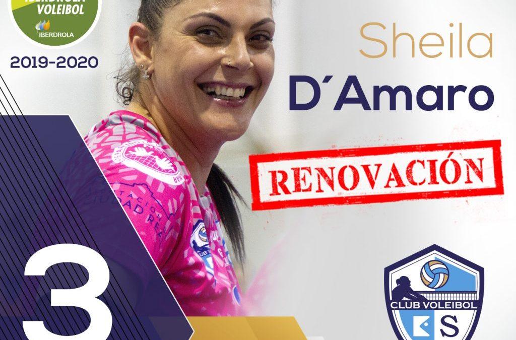 La MVP de la Fase Final SF2 RENUEVA … Sheila D'Amaro