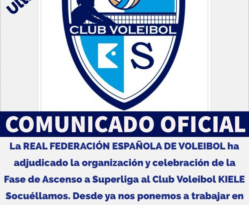 La RFEVB adjudica la Fase Final de Superliga 2 al CV Kiele