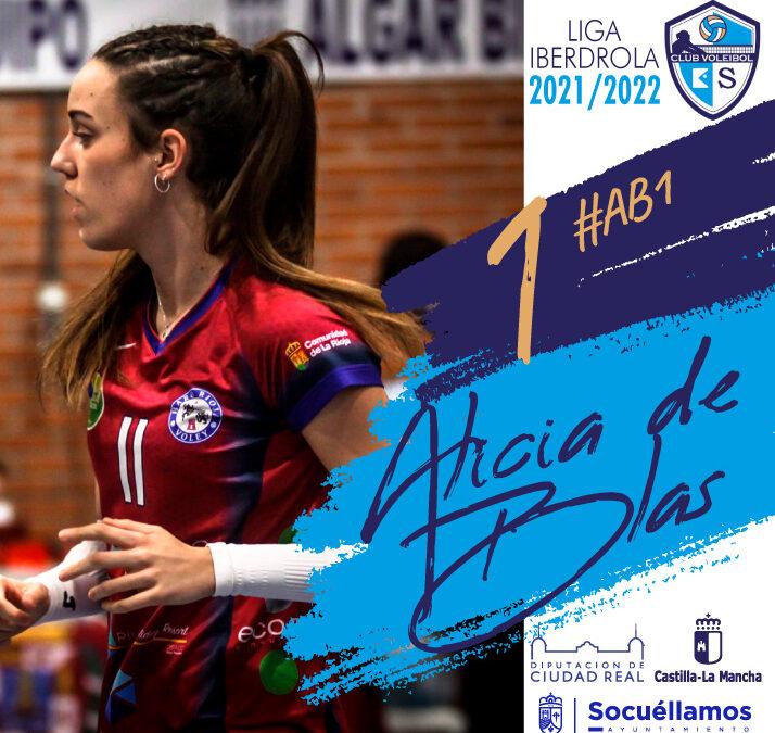 Temporada 2021-2022: Fichaje ALÍCIA DE BLAS