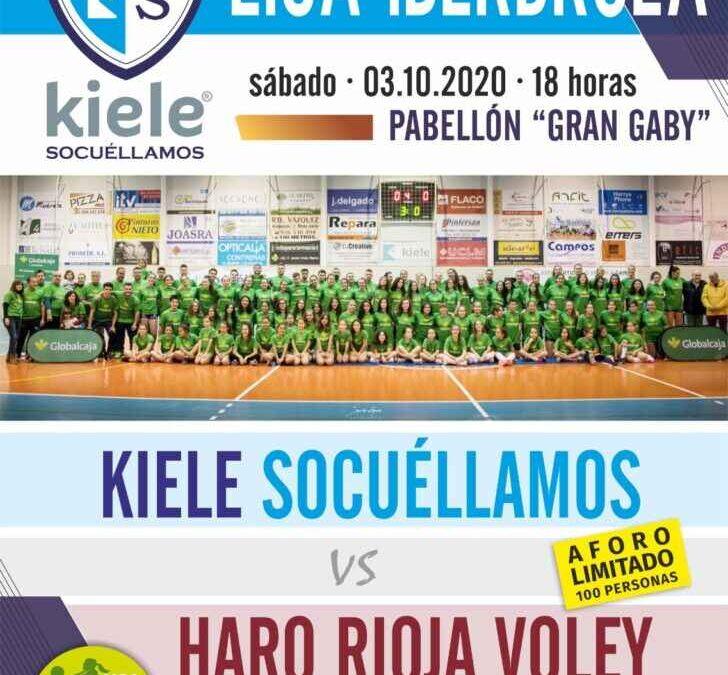 El Club Voleibol KIELE cancela la venta de abonos e implementa un sistema de preinscripción para el primer partido de Liga Iberdrola frente al HARO RIOJA VOLEY