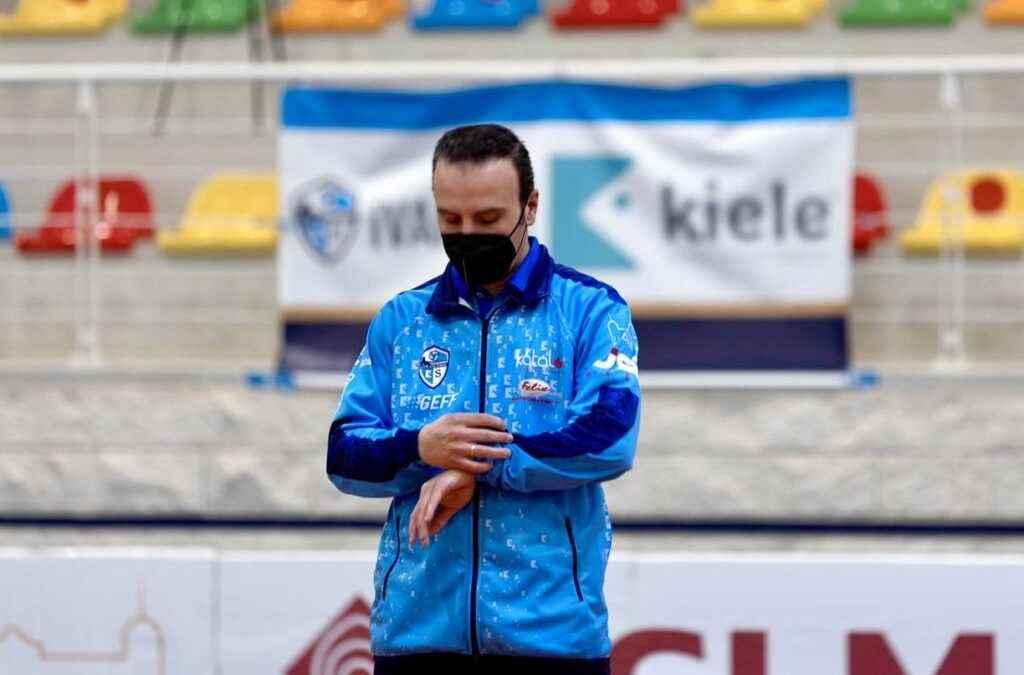 El CV KIELE Socuéllamos renueva una temporada más a CHEMA RODRIGUEZ como Entrenador del Equipo