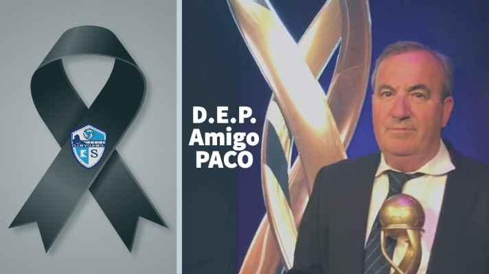 El Club Voleibol KIELE lamenta la pérdida de su Directivo PACO LÓPEZ