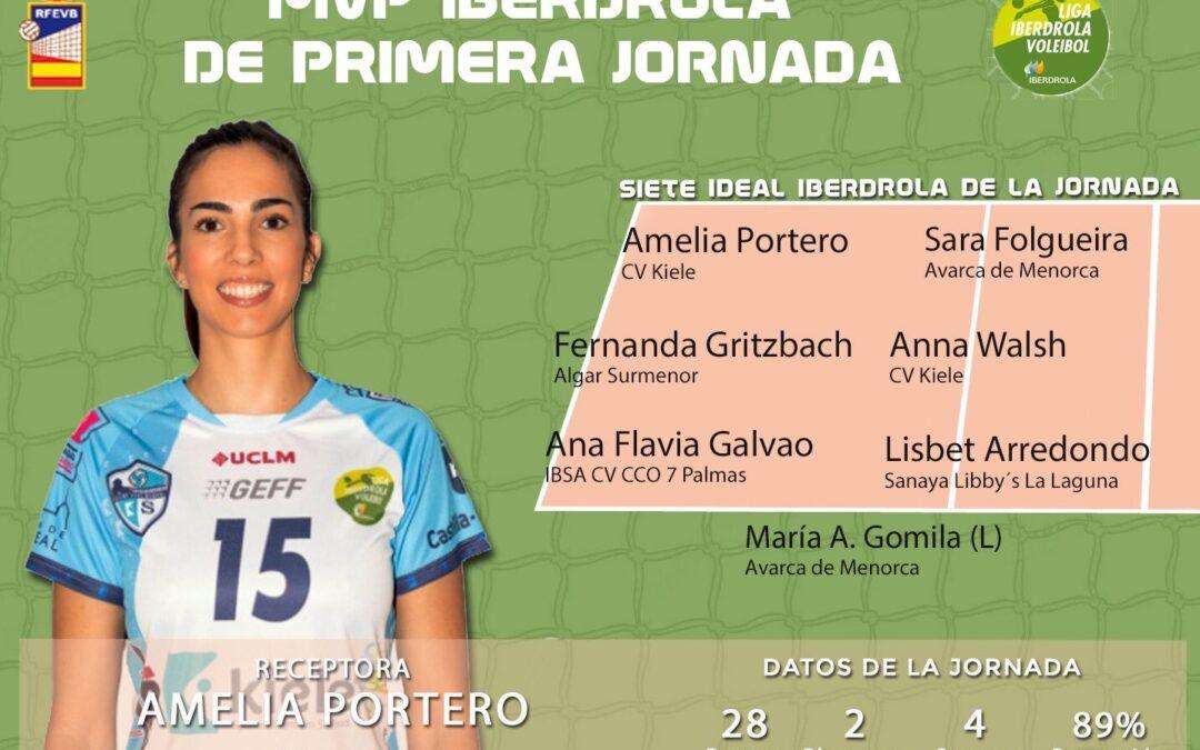 Amelia Portero primera MVP de la Liga Iberdrola