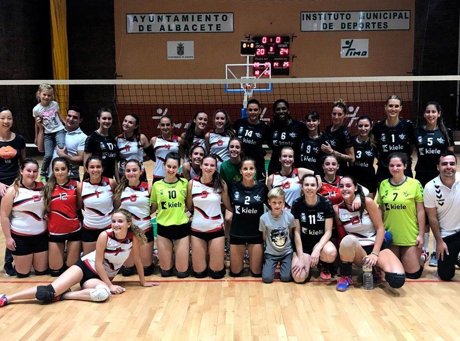 El Voleibol Kiele se hace con el trofeo «Feria de Albacete»
