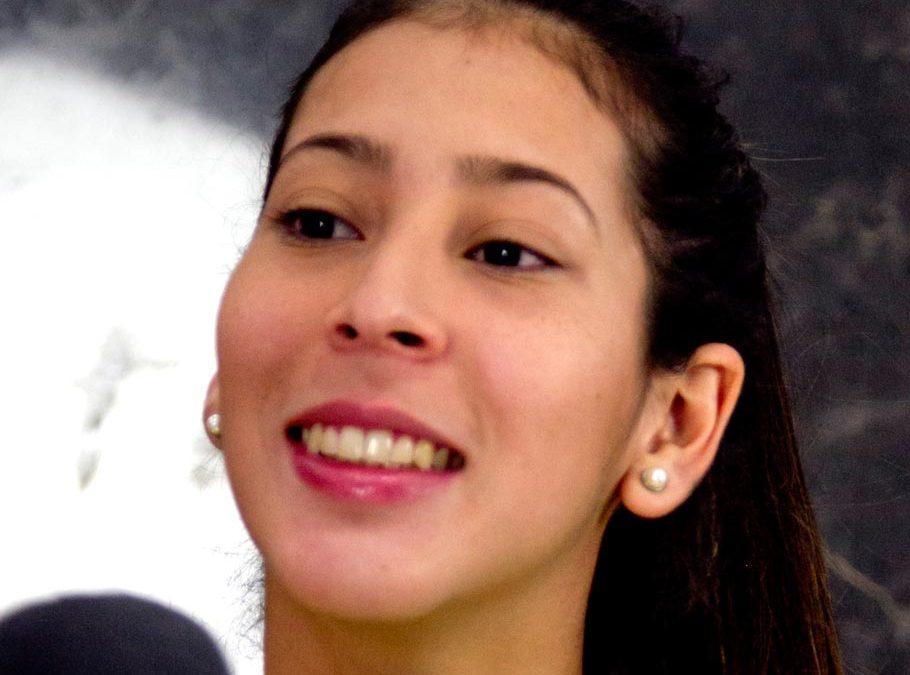 «Diana Paredes» una internacional más para el CV Kiele
